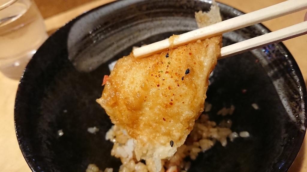 キスの天ぷら