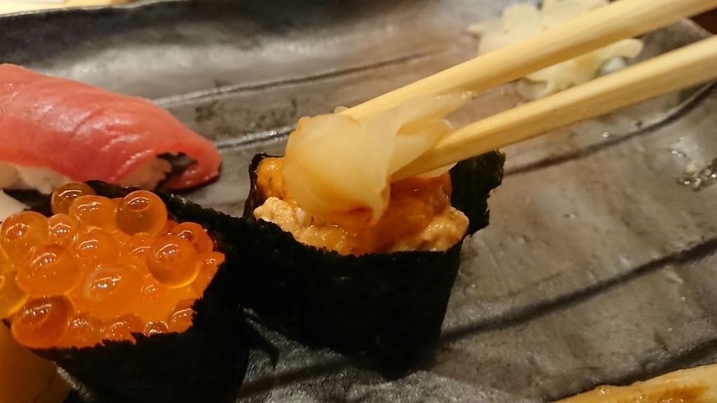 雲丹のお寿司
