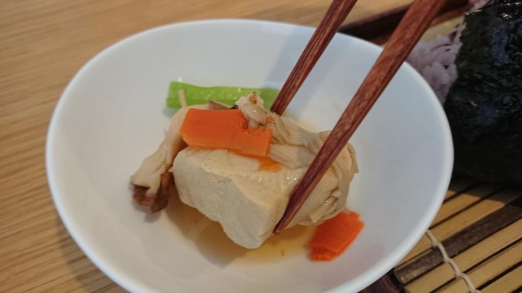 美松はなれの高野豆腐の煮付け
