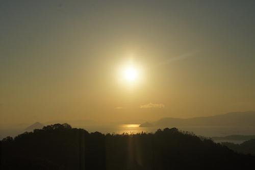 日の出 鷲羽山