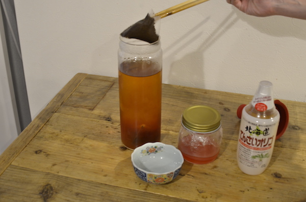 KOMBUCHA 作り方 紅茶