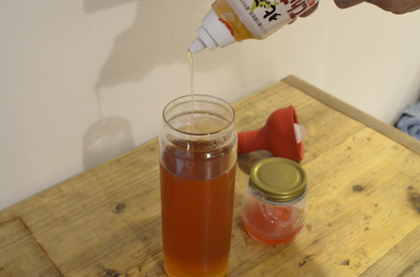 紅茶キノコ KOMBUCHA 作り方 加糖