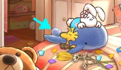 イースターエッグ サリーの部屋 クジラ