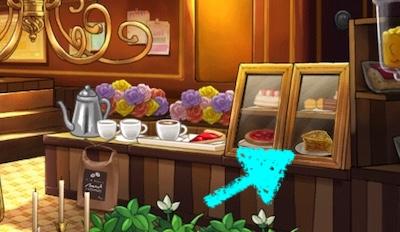 サリーズカフェ アップルパイ