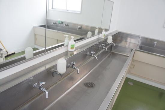 保田小学校 宿泊施設 道の駅 手洗い場
