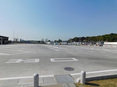 道の駅いちかわ 市川 駐車場