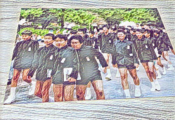 制服 小学校 小学生 京都 公立 修学旅行