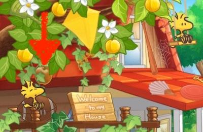 スヌーピーの小屋 りんご 林檎 リンゴ