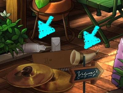 おろし金 角笛 サリーズカフェ レベル2