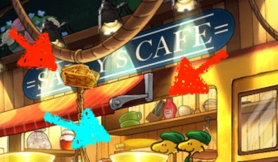 アップルパイ とうもろこし メトロノーム サリーズカフェ レベル2