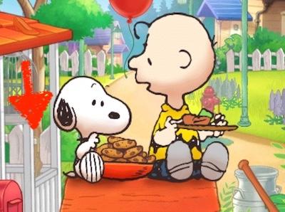 雨傘 あまがさ 傘 カサ スヌーピーの小屋 スヌーピーライフ  イベント ピクニック