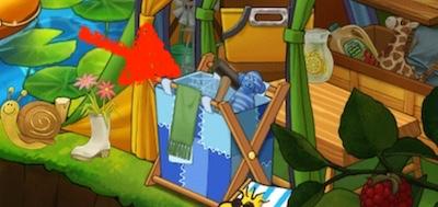 蜘蛛の巣 クモの巣 くもの巣 クレイジーキャンプサイト イベント スヌーピーライフ  レベル4