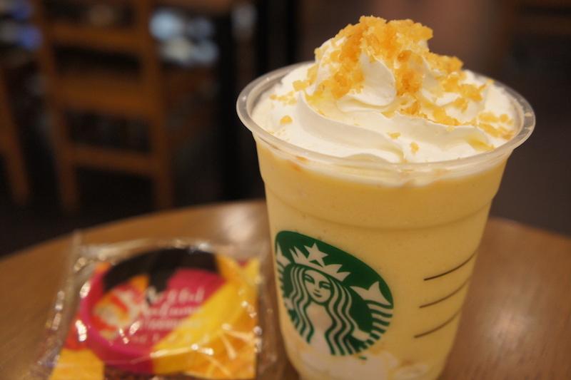 クリスピースイートポテトフラペチーノ 芋けんぴフラペ スタバ スターバックス フラペチーノ 芋けんぴ スイートポテト 新作 新商品 Starbucks さつま芋
