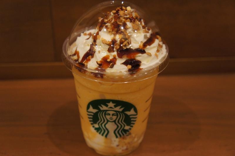 クリーミーパンプキンフラペチーノ かぼちゃフラペ スタバ スターバックス フラペチーノ かぼちゃ パンプキンスープ 新作 新商品 Starbucks 南瓜