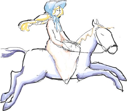 はてなハイカーさん、馬っ娘のイラスト欲しい!