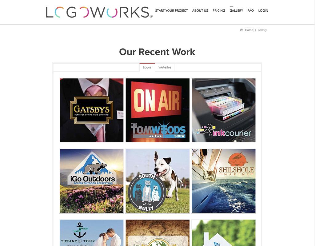 世界のロゴマーク制作サイト