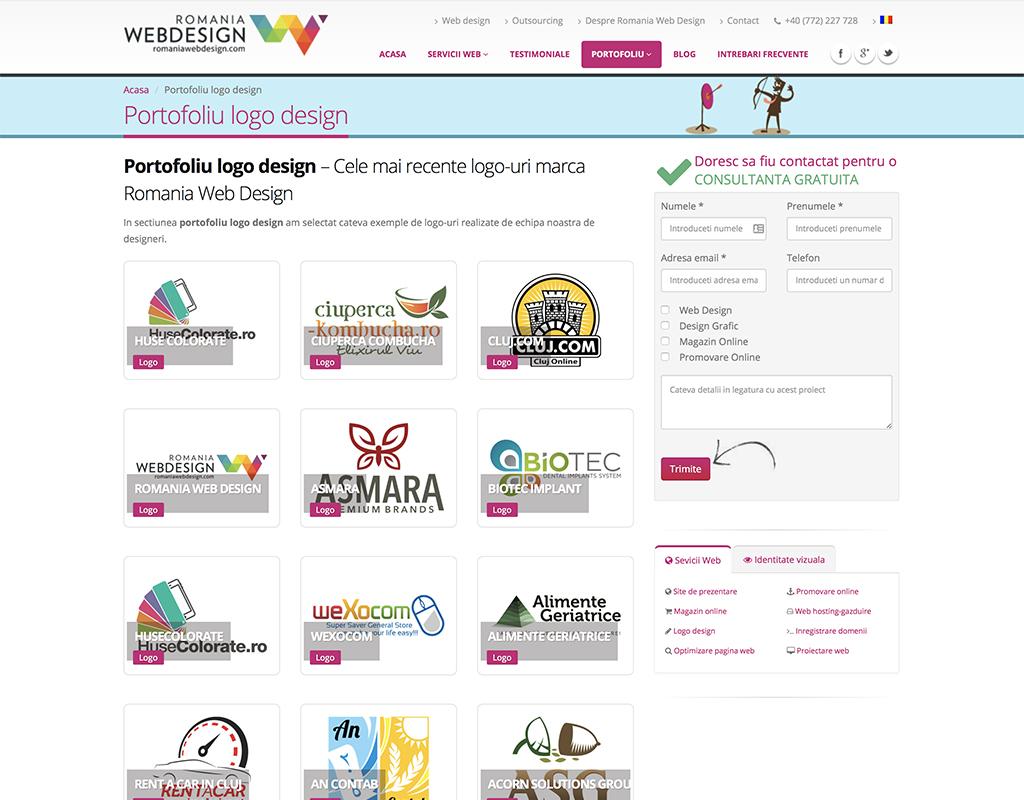 ルーマニアのデザイン事務所が制作したロゴ