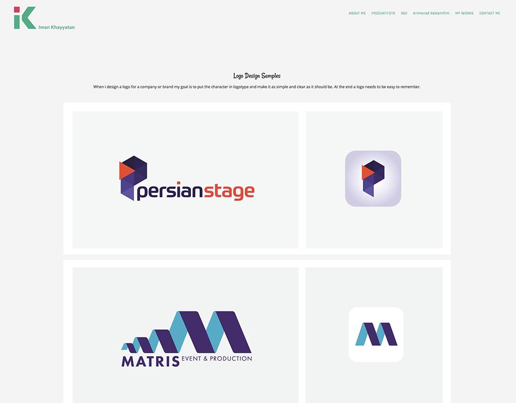 海外のデザイナーのロゴ制作事例