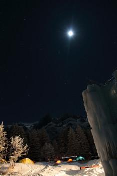 月光の鉱泉