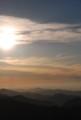 四国山地の目覚め