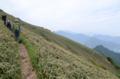四国の峰々