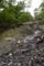 土石流の痕