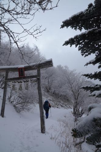 大剣神社の鳥居