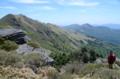 チチ山を望む