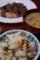 菜飯と猪汁