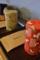 丹羽茶輔の干支茶缶と茶葉