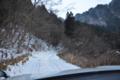 吉井の林道
