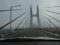 瀬戸大橋を渡る