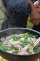 花韮と豚肉の炒め物
