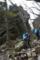 山中の石門