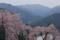 剣山を望む