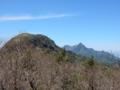 筒上山と石鎚山