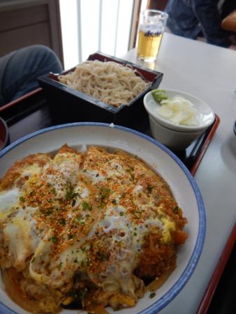 カツ丼・蕎麦セット:500円