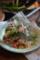 ハナニラと豚肉の炒め物