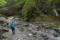 渡渉の河原