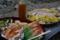 皿鉢と鯛素麺
