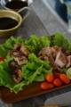豚肉のスパイス焼き