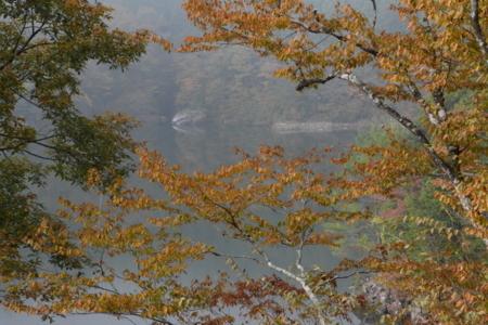 長沢ダム湖