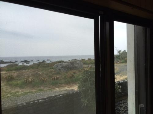 窓から見える景色