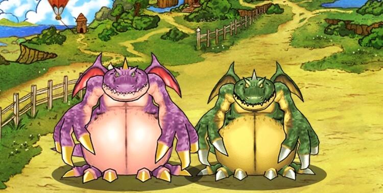 ドラゴン・ウーとギガントドラゴン