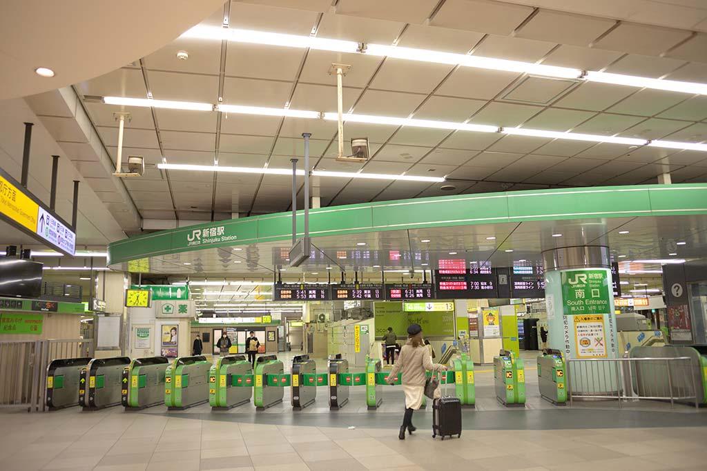新宿駅 南口改札