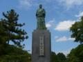 222日本映画の父・マキノ省三像