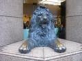 銀座三越 ライオン像