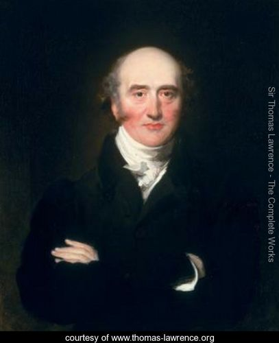 Portrait of the Rt Hon. George Canning