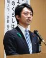 小泉進次郎復興政務官