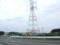 大間原子力発電所の入り口が右側に